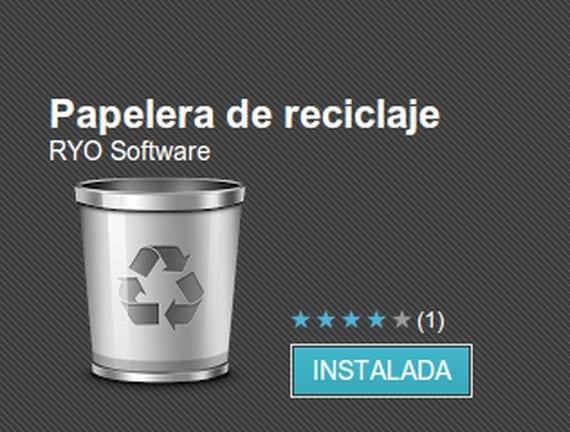 Cómo crear una Papelera de Reciclaje en nuestro Android