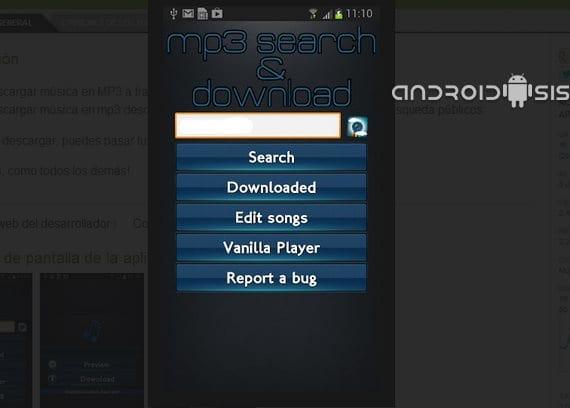 Cómo descargar gratis tu música favorita desde tu propio terminal Android con Busca y descarga Mp3 Pro