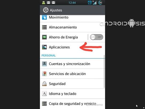 Cómo desinstalar la nueva versión del Play Store 4.0.25