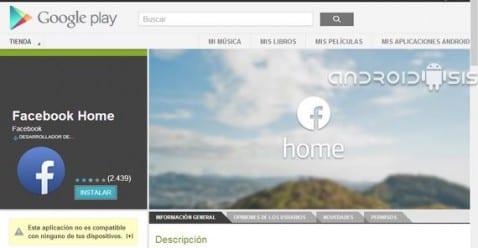 Cómo instalar el nuevo Facebook Home en cualquier dispositivo