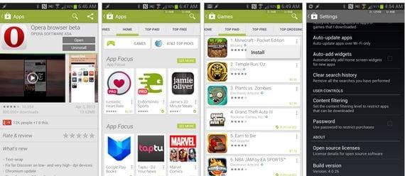 Descargar Play Store 4.0.26 y anteriores versiones