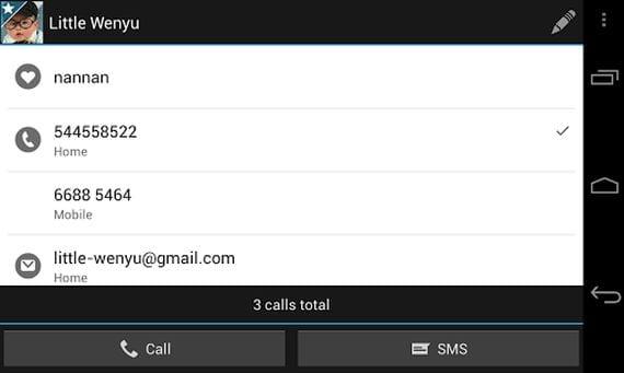 ExDialer & Contacts aplicación para cambiar la apariencia de tu Android