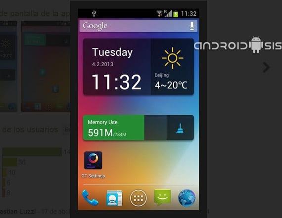 GT Launcher Prime, Launcher para Android gratuito y de calidad