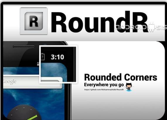 RoundR, redondea las esquinas de la pantalla de tu Android
