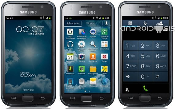 Samsung Galaxy S, Cyber Rom Android 4.2.2 Galaxy S4
