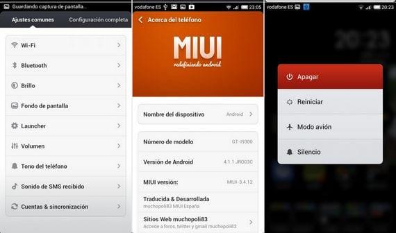 Samsung Galaxy S3, Rom MIUI Android 4.1.1 de Muchopoli83