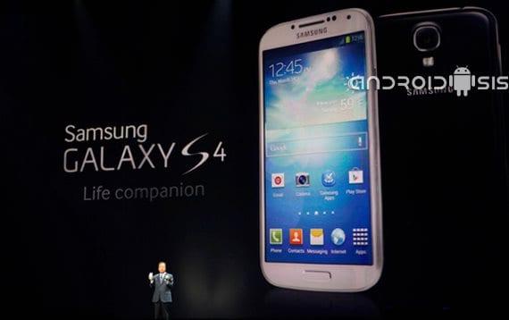 Samsung Galaxy S4 retirado del mercado antes de ni tan siquiera salir a la venta.