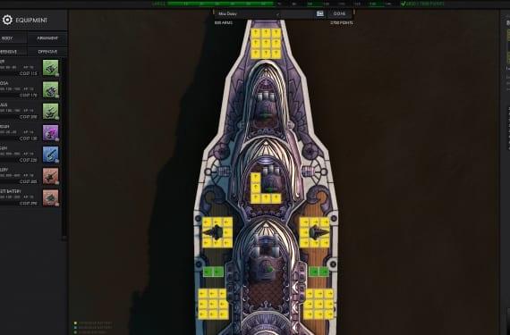 Equipamiento Barco de Guerra