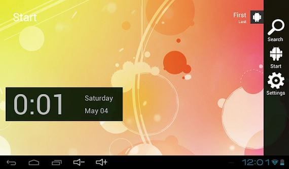 Androse Launcher, la apariencia de Windows 8 en tu Tablet Android