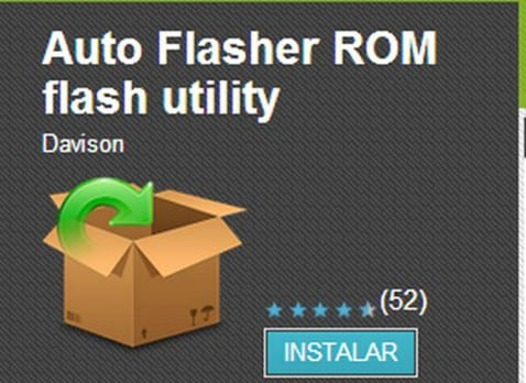 Auto Flasher ROM flash utility, una app indispensable para adictos al flasheo