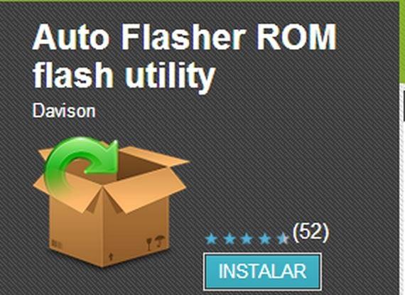 Auto Flasher ROM flash utility, una app indispensable para adictos al flasheo