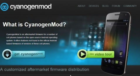 Cyanogenmod 10.1 RC1 ya disponible para su descarga