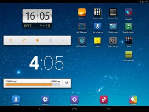 Launcher MIUI V5 especialmente diseñado para Tablets