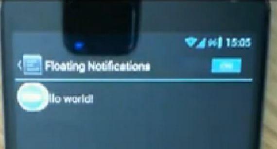 Notificaciones al estilo Chat Heads para cualquier Android