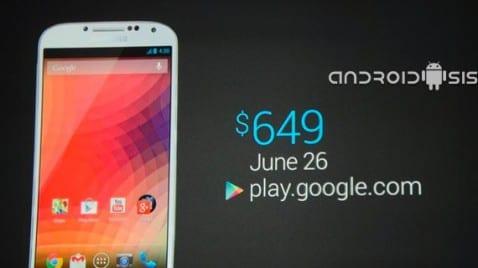 Samsung Galaxy S4 Google edición presentado oficialmente