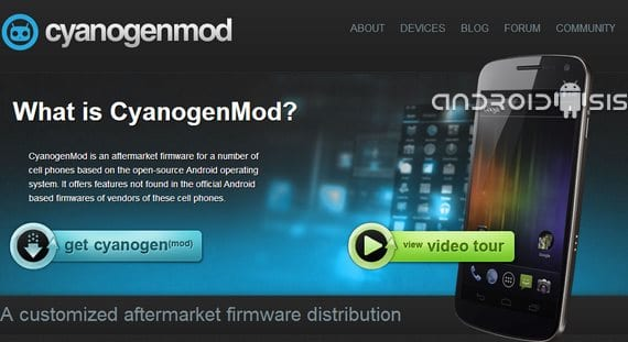 Cyanogenmod 10.1 RC4 ya disponibles para descarga directa