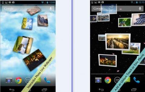 Los mejores Fondos de pantalla animados para tu Android: Hoy Gallery 3D Live Wallpaper