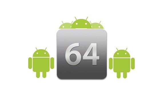 64 Wird sie 64-Bit-Architektur zu erreichen, Android? umzusetzen lohnt sich jetzt?