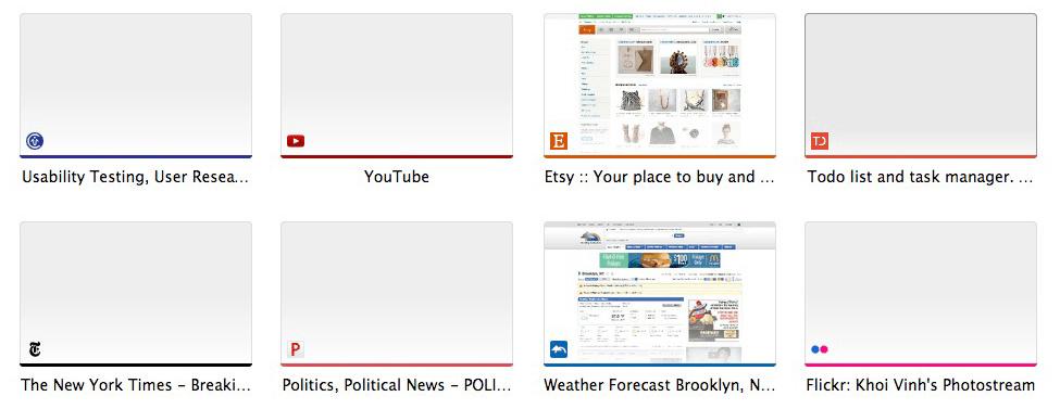 Thumbnails Chrome