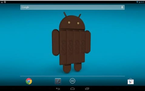 Android Kit Kat 3D Wallpaper gratis en el Play Store