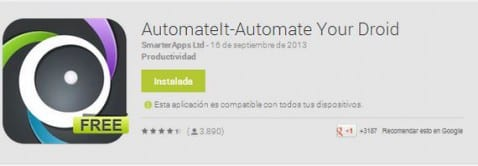 Aplicaciones increíbles para Android, hoy: AutomateIt-Automate Your Droid