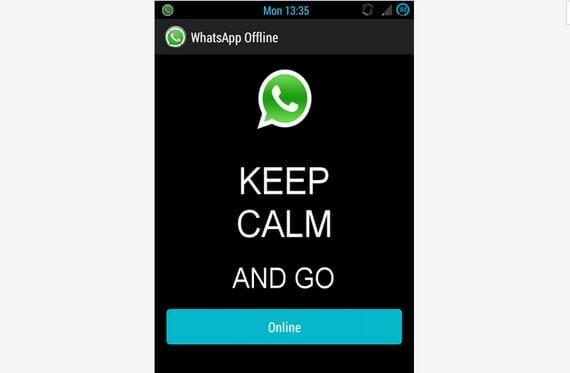 Aplicaciones increíbles para Android: Hoy Whatsapp offline