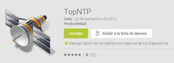 Ayuda a posicionarse a tu GPS con TopNTP