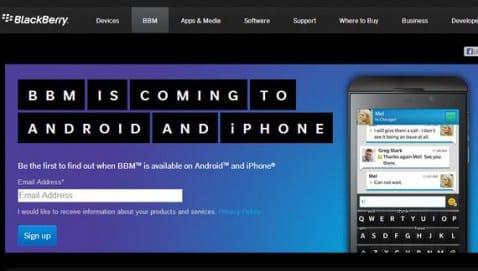 BBM para Android todavía no está disponible en el Play Store, ¡¡cuidado con lo que os descargáis!!
