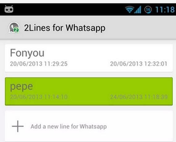 Cómo activar dos cuentas de Whatsapp en un mismo terminal (2 o +)