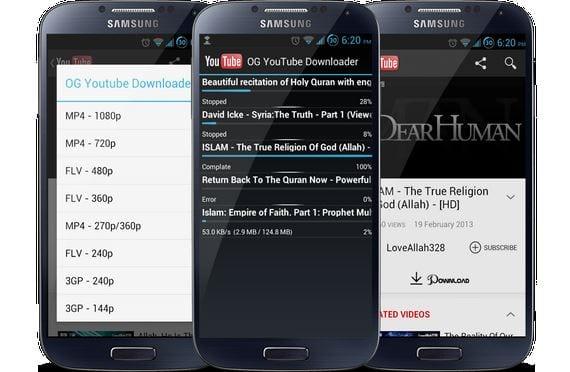 Cómo descargar vídeos de You Tube desde tu propio Android