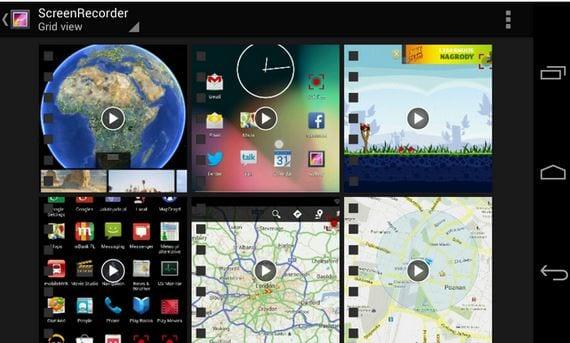 Cómo hacer ScreenCast en tu Android con Screen Recorder