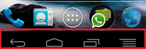 Cómo poner los botones virtuales de los Nexus en cualquier terminal