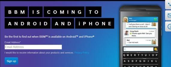 BBM para Android se actualiza a la versión 2.0 para incluir las llamadas de voz entre usuarios