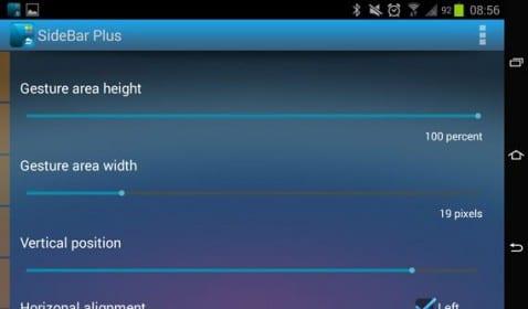 Sidebar plus, espectacular multitarea para cualquier terminal Android