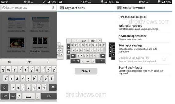 Xperia Honami Keyboard, descarga e instalación para Roms deodexadas