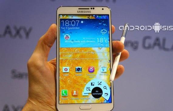 Samsung Galaxy Note 3, mala calidad de llamadas en la versión Sprint