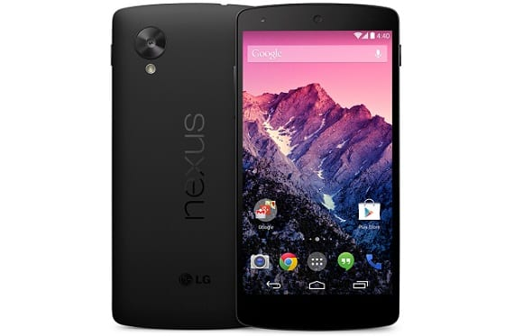 52 Nexus 5 ya disponible en Google Play