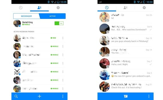 Mess The new Facebook Messenger gets new design and new features [Download APK]