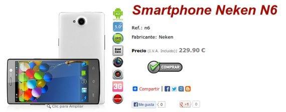 Smartphones Android alternativos y a buen precio