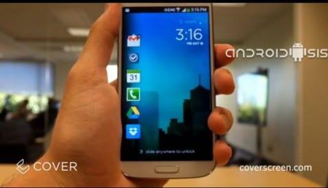 Aplicaciones increíbles para Android: Cover LockScreen inteligente para Android