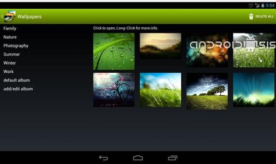 Aplicaciones increíbles para Android: Hoy Wallpaper Changer