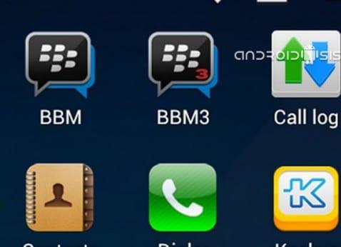 BBM para Android, cómo usar dos identidades diferentes desde un mismo terminal