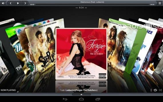iSense 3D Musik-Player Apple-Stil