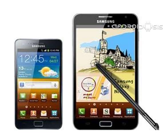 Samsung Galaxy S2 y Galaxy Note, adiós a las actualizaciones oficiales Samsung