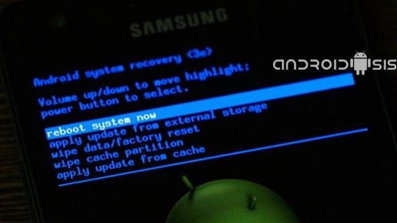 Samsung Galaxy S3 limpieza después de una actualización oficial