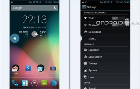 Samsung Galaxy S3, Rom crDroid AOSP Android 4.3
