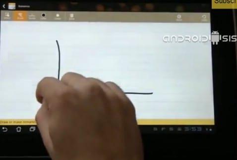 SuperNote, aplicación de notas de Asus para todos los Android