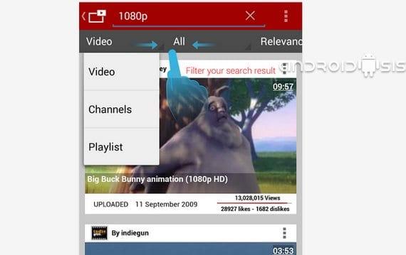 Vídeos flotantes en You Tube con Viral aplicación gratuita