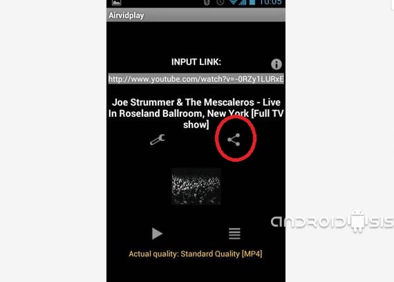 Aplicaciones increíbles para Android, hoy Airvidplay