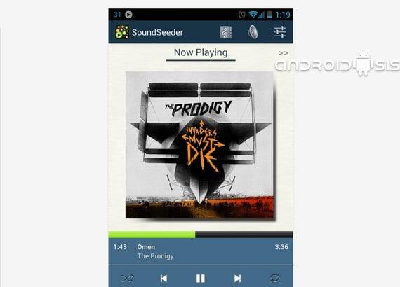 Aplicaciones increíbles para Android: Hoy SoundSeeder
